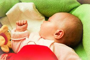Ночной сон малыша становится более глубоким