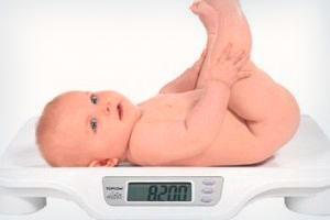 норма прибавки в весе у детей до года