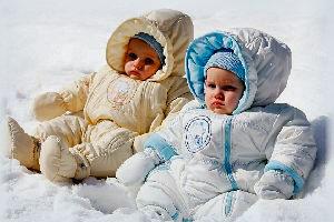зимняя одежда для детей до года