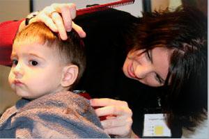 уход за волосами детей до года