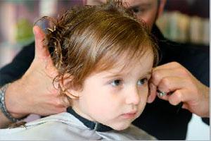 стрижка детей до года
