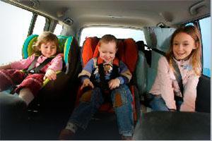 Виды детских авто-кресел
